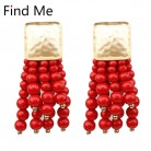 US $1.81 24% OFF|Find Me 2019 brand fashion wholesale boho multilayer beads Drop earrings new long tassels Dangle Earrings for women Jewelry    -in Drop Earrings from Jewelry & Accessories on Aliexpress.com | Alibaba Group