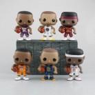 Суперзвездные экшн-фигурки Леброн Джеймс Коби Bryant Stephen Curry Klay Thompson, супер Звездный баскетбольный автомобиль, украшения с коробкой