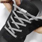 1 пара быстроразъемных шнурков, круглые эластичные шнурки для обуви без галстука для детей и взрослых, кроссовки для шнурков