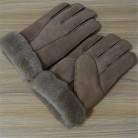 Горячая Распродажа, мужские кожаные перчатки высокого качества, новые мужские зимние меховые теплые перчатки из овчины, кожаные меховые перчатки, мужские зимние перчатки купить на AliExpress