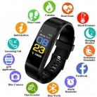 842.53 руб. 65% СКИДКА|Новый умный браслет для мужчин и женщин спортивные Смарт часы фитнес трекер монитор сердечного ритма кровяное давление Smartwatch для ios android-in Смарт-браслеты from Бытовая электроника on Aliexpress.com | Alibaba Group