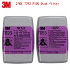 3M 7093 P100 respirator mask filters Genuine mask filter PM0.3 particulates Welding dust glass fiber Protective filters