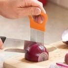 Кухонные гаджеты, режущие инструменты для нарезки лука, томат овощи, безопасные вилки, 2019