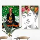 195.83 руб. 20% СКИДКА|Мексиканская женщина Автопортрет холст картина настенные картины женский художественный фотоплакаты и принты гостиной домашний декор-in Рисование и каллиграфия from Дом и животные on Aliexpress.com | Alibaba Group