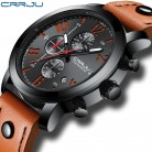 US $18.99 90% OFF|Relogio Masculino CRRJU Creative Luxury Quartz Men Watch Leather Chronograph Army Military Sport Watches Clock Men Reloj Hombre-in Quartz Watches from Watches on Aliexpress.com | Alibaba Group