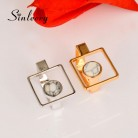 SINLEERY Unique Design Big Hollow Square Finger Rings For Women Silver/ Gold Color Stone Rings Creative Gifts Jz598 SSK-in Rings from Jewelry & Accessories on Aliexpress.com | Alibaba Group