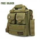 FREE SOLDIER Тактическая военная походная сумочка на плечо, в стиле милитари, для повседневной носки и туризма, ручная,  100% 1000D CORDURA YKK молнии купить на AliExpress