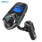 R$ 56.65 24% de desconto|Nulaxy KM18 Mp3 Player Do Carro Do Bluetooth Transmissor FM Hands free Car Kit Bluetooth Modulador FM Sem Fio Carregador de Carro USB em Transmissores de FM de Automóveis & Motos no AliExpress.com | Alibaba Group