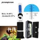 758.68 руб. 50% СКИДКА|Розничная коробка удельный вес 0 40% БРИКС спиртовой рефрактометр тестер для сусла пива вина винограда сахара ATC набор Sacc 47% скидка-in Рефрактометры from Орудия on Aliexpress.com | Alibaba Group