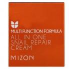 Mizon, Регенерирующий крем с экстрактом улиток все в одном, 2.53 унций (75 мл)