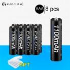 350.42 руб. 20% СКИДКА|PALO 4 шт. 8 шт. 16 шт. оригинальный 3A AAA аккумулятор 1100 мАч 1,2 в AAA NIMH аккумулятор Перезаряжаемый bateris 3A batter-in Подзаряжаемые батареи from Бытовая электроника on Aliexpress.com | Alibaba Group