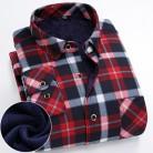 1281.46 руб. 30% СКИДКА|FillenGudd плюс размер 8XL зимние мужские клетчатые теплые рубашки с длинными рукавами теплые красные и черные мужские рубашки с принтом бархатные 7XL 6XL 5XL-in Повседневные рубашки from Мужская одежда on Aliexpress.com | Alibaba Group