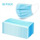 50Pcs 3-layer Disposable Medical Masks Mouth Face Mask Dust-Proof