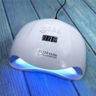 SUNX5PLUS 80 Вт УФ светодиодная лампа для сушки ногтей Солнцезащитная лампа для маникюра умный ЖК-дисплей для всех УФ LED гель-лаков инструмент для...