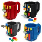 US $3.29 34% OFF|Cup Build On Brick Lego Mug Type Building Blocks Coffee Cup DIY Block Puzzle Mug Christmas Gift-in Mugs from Home & Garden on Aliexpress.com | Alibaba Group