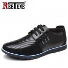 1578.44 руб. 49% СКИДКА|Reetene/повседневная кожаная обувь больших размеров 37 48 мужская повседневная кожаная обувь высокого качества Осенняя кожаная обувь для мужчин на плоской подошве-in Мужская повседневная обувь from Туфли on Aliexpress.com | Alibaba Group