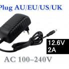 608.03 руб. 10% СКИДКА|12.6 В 2A 18650 литиевая батарея Зарядное устройство DC 5.5 мм * 2.1 мм Портативный Зарядное устройство ЕС/AU/США/ великобритания Plug 12.6 В Зарядное устройство купить на AliExpress