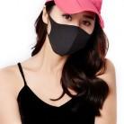 6 шт моющиеся FPP3/N95 KF94 маска для лица Анти-пыль рот маска PM2.5 наружная среда рот маска для лица Ati-бактерии черная маска
