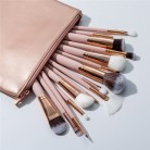 US $4.71 41% OFF|Excellent Quality 15pcs Makeup Brushes Set + Leather Case Foundation Powder Blush Highlighter Eyeshadow Blending Brush Maquiagem-in Eye Shadow Applicator from Beauty & Health on AliExpress - 11.11_Double 11_Singles' Day