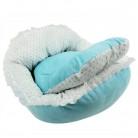 1178.05 руб. 18% СКИДКА|Милый кровать для средних собак мягкая собака клетка щенок матрас Товары для домашних животных розовый/синий купить на AliExpress