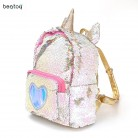 2019 Women Sequins Backpack Cute Unicorn Schoolbag For Teenage Student Girls Satchel Female mochila de couro Packpack School Bag-in School Bags from Luggage & Bags on Aliexpress.com | Alibaba Group