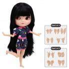 € 35.32 |ICY muñeca pecho pequeño azone cuerpo fortuna días BL9601 oscuro blak pelo lacio con flequillo/flecos 30 cm en Muñecas de Juguetes y aficiones en AliExpress.com | Alibaba Group