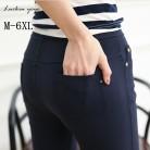 706.47 руб. 40% СКИДКА|Леггинсы для женщин узкие тонкие черные леггинсы повседневные с высокой талией эластичные узкие брюки большие Большие размеры женские леггинсы-in Лосины from Женская одежда on Aliexpress.com | Alibaba Group