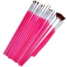 US $0.99 |15pcs manicure brushes nail brush art Set Professional UV Gel Acrylic Painting Drawing Pen Manicure Nails Tips Tools New Kit-in Nail Brushes from Beauty & Health on Aliexpress.com | Alibaba Group