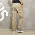 1354.72 руб. 13% СКИДКА|Icpants брюки карго свободные хаки брюки карго мужские повседневные эластичные талии военные брюки карго мужские армейские зеленые летние мужские брюки-in Брюки-карго from Мужская одежда on Aliexpress.com | Alibaba Group