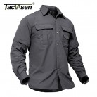 US $18.15 25% OFF|TACVASEN New Men's Army Clothing Spring Military Shirt Quick Dry Tactical Shirt Summer Removable Long Sleeve Shirts Plus Size-in Casual Shirts from Men's Clothing on Aliexpress.com | Alibaba Group