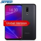 15960.32 руб. |Оригинальный Meizu 16 4G LTE 6G 64G глобальная версия сотового телефона Snapdragon 710 Восьмиядерный 6,0