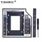 157.0 руб. 40% СКИДКА|TISHRIC Универсальный алюминиевый 2nd HDD Caddy 12,7 мм SATA 3,0 для 2,5