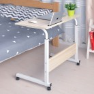 US $33.0 70% OFF Computer Table Adjustable Portable Laptop Desk Rotate Laptop Bed Table Can be Lifted Standing Desk  60*40CM-in Laptop Desks from Furniture on AliExpress - 11.11_Double 11_Singles' Day