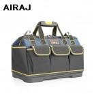 AIRAJ 2020 Upgrade Tool Bag, 13/15/17/19/23 inch Electrician Bag 1680D Oxford Waterproof Wear-resistant Tool Storage Toolkit