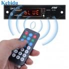 91.33 руб. 19% СКИДКА|Kebidu 5 В 12 В Беспроводной Bluetooth MP3 WMA декодер Аудио автомобилей USB TF FM радио модуль с дистанционным Управление для автомобильных аксессуаров купить на AliExpress