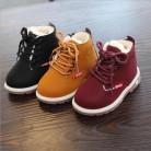 434.79 руб. 29% СКИДКА|Лидер продаж; Детские Ботинки martin кожаная обувь для мальчиков; сезон осень зима; теплая хлопковая обувь; модные детские ботинки для девочек; нескользящие-in Сапоги from Мать и ребенок on Aliexpress.com | Alibaba Group