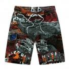 555.43 руб. 25% СКИДКА|Лидер продаж печати бордшорты Для мужчин Повседневное Лето Для мужчин s Пляжные шорты M 5XL купить на AliExpress