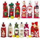 71.79 руб. |2019 Рождественский Декор для дома, Рождественская бутылка для вина, сумка, чехол, Санта Клаус, бутылка с оленем, одежда, украшение для кухни, новогодний вид купить на AliExpress