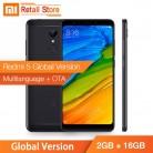 7625.54 руб. |Глобальная версия Xiaomi Redmi 5 2 ГБ 16 ГБ Snapdragon 450 Восьмиядерный CPU мобильный телефон 5,7