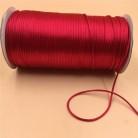111.16 руб. 30% СКИДКА|2 мм 20 м/лот красный китайский узел атласный шнур провод плетеный украшение на нитке выводов Бисер Веревка # r700 купить на AliExpress