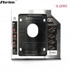 122.98 руб. |Zheino 9,5 мм 12,7 9,0 2nd HDD/SSD Caddy SATA адаптер чехол Fit 2,5