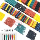 US $2.62 18% OFF|328Pcs/set Sleeving Wrap Wire Car Electrical Cable Tube kits Heat Shrink Tube Tubing Polyolefin 8 Sizes Mixed Color-in Cable Sleeves from Home Improvement on Aliexpress.com | Alibaba Group
