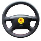 1089.73 руб. 40% СКИДКА|Крышка рулевого колеса Оплетка на руль для Volkswagen Passat B5 VW Passat B5 VW Golf 4 Skoda Octavia 1999 2005 купить на AliExpress