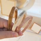 2020 New Japan and Korea Ladies Tide Resin Plastic Acrylic Pentagram Polygon Geometric Classic Fashion Bracelets Women Jewelry