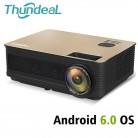 9657.65 руб. 51% СКИДКА|ThundeaL HD проектор TD86 4000 люмен Android 6,0 WiFi Bluetooth проектор (опционально) Full HD 1080 P светодиодный телевизор видео 3D проектор-in Проекторы from Компьютер и офис on Aliexpress.com | Alibaba Group