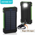 US $44.58 |Hot Top Solar Power Bank Waterproof 30000mAh Solar Charger 2 USB Ports External Charger Powerbank for Xiaomi note8 for i7 18650 -in Power Bank from Cellphones & Telecommunications on Aliexpress.com | Alibaba Group