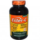 American Health, Ester-C, с цитрусовыми биофлавоноидами, 500мг, 450вегетарианских таблеток