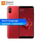 13605.42 руб. |Новый Xiaomi Mi 6 ГБ 128 Встроенная память смартфон 6 X Snapdragon 660 Octa Core 18:9