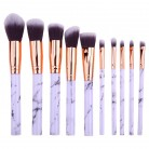 54.95 руб. 6% СКИДКА|10 шт. мраморная щетка для макияжа для Косметической Пудры основа, тени для век, губы набор кисточек для макияжа инструмент для красоты maquiagem-in Аппликатор теней для век from Красота и здоровье on Aliexpress.com | Alibaba Group