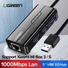 919.75 руб. 25% СКИДКА|Ugreen USB Ethernet USB 3,0 2,0 к RJ45 концентратор для Xiaomi Mi Box 3/S телеприставка Ethernet адаптер Сетевая карта USB LAN-in Сетевые карты from Компьютер и офис on Aliexpress.com | Alibaba Group
